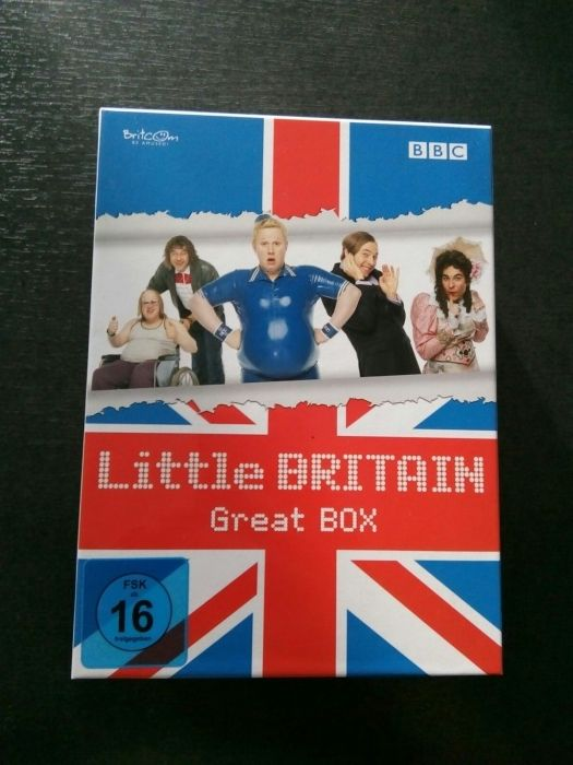 DVD-uri Little Britain