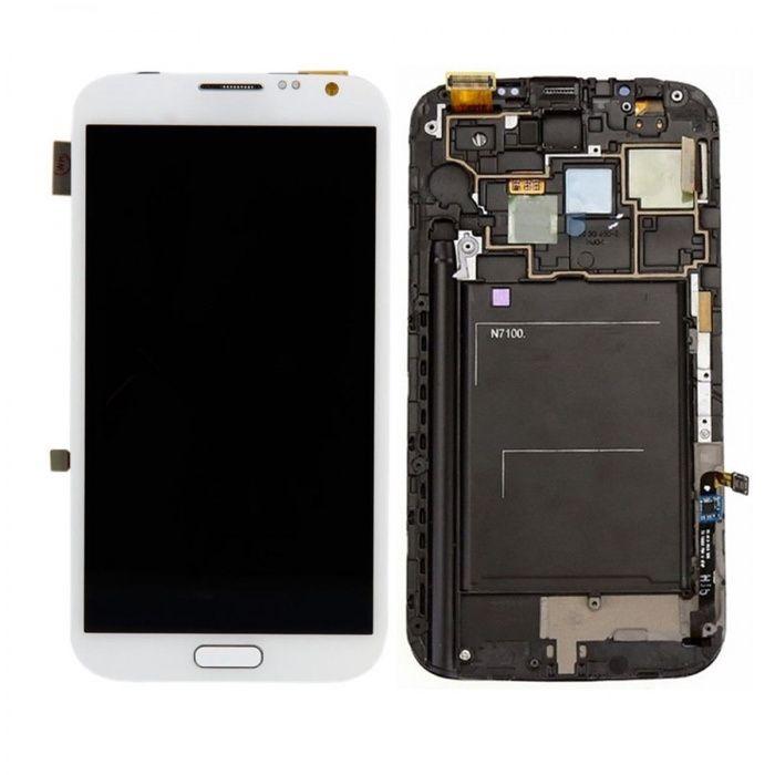 LCD de Samsung Note 2 com montagem inclusa