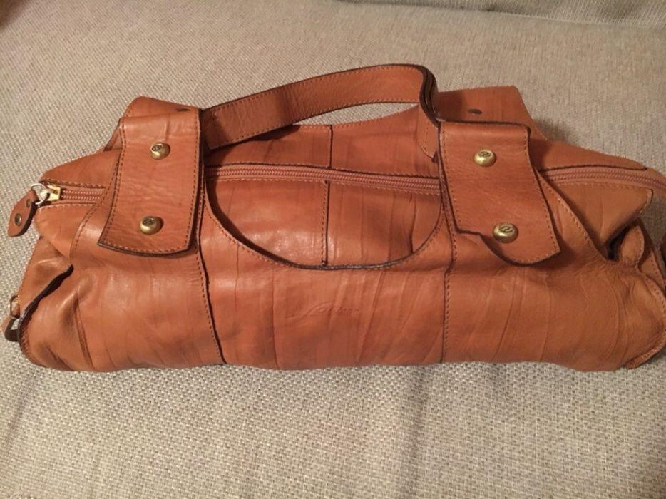 Чанта от естествена кожа-намалявам на 40 лв.