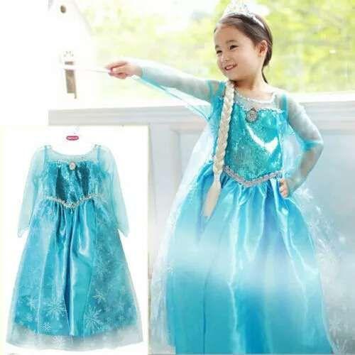 Rochie Elsa Frozen 3, 4, 5, 6, 7, 8 ani- NOUA