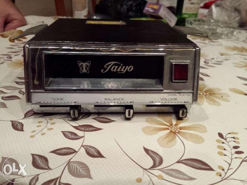 Ретро касетофон TAIYO