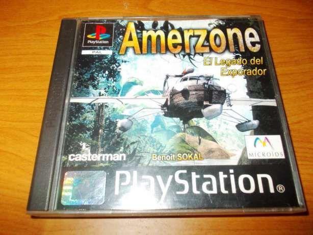 Jocuri PS1 Amerzone / NBA '98 PRO 98 (1998)