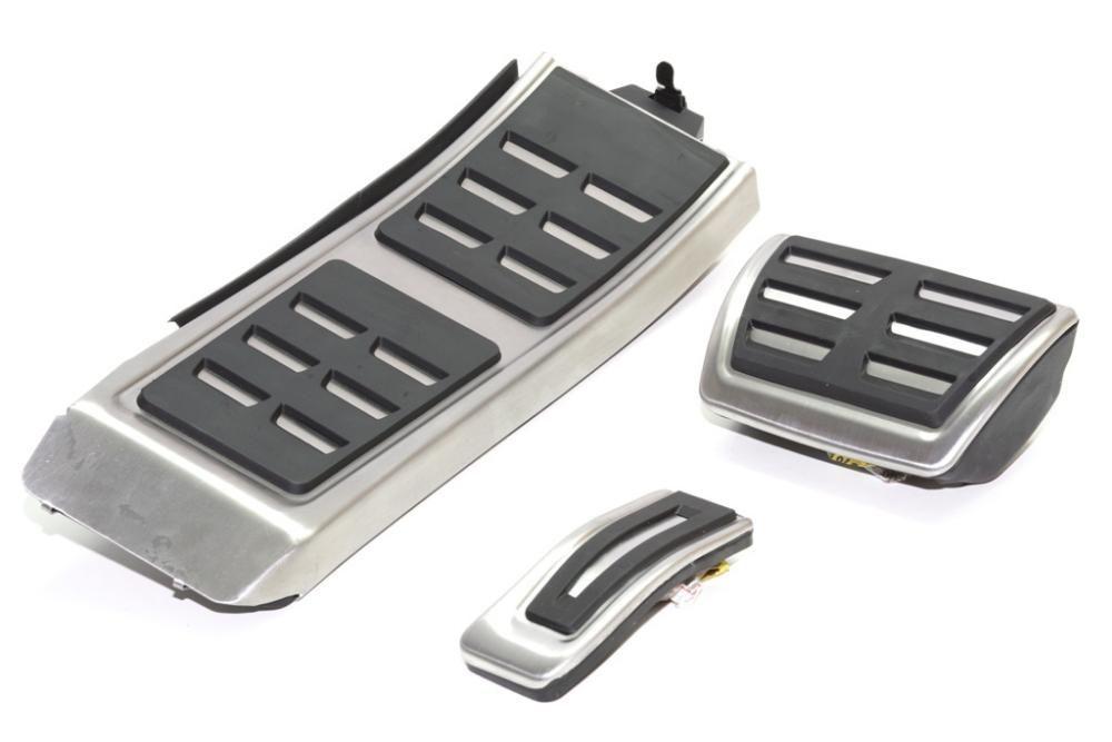 Set Pedale Inox + Footrest transmisie automata Audi A4,A5,A6,A7,Q5 pre