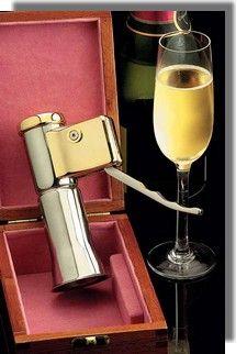 Descorjet Champagne Bottle Opener (Deschizator Sticle Sampanie)