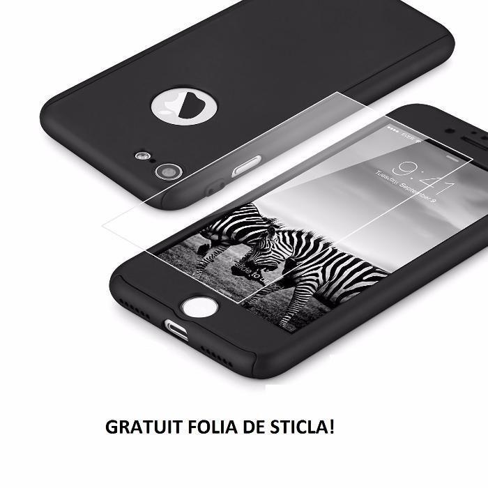 Husa Ultra Slim 360 Grade iPhone 6/6s 7 7Plus 8 /8Plus