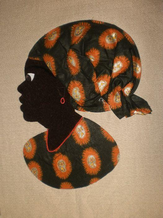 Африканка-картина от текстил върху текстил-варианти гр. София - image 7