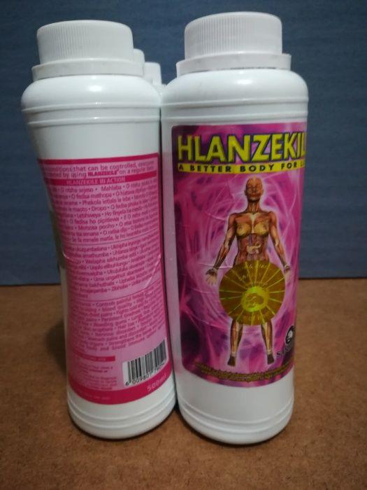 Vendo suplemento nutricional Hlanzekile para limpeza total do organism