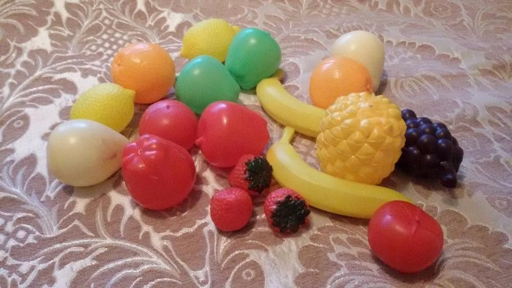 овощи игрушки