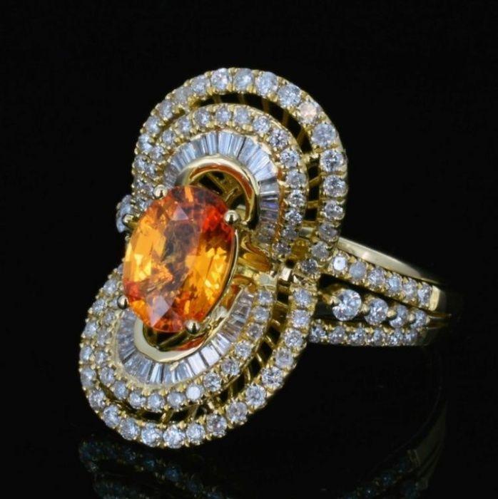Inel Michael Christoff 149 diamante certificat AIGL