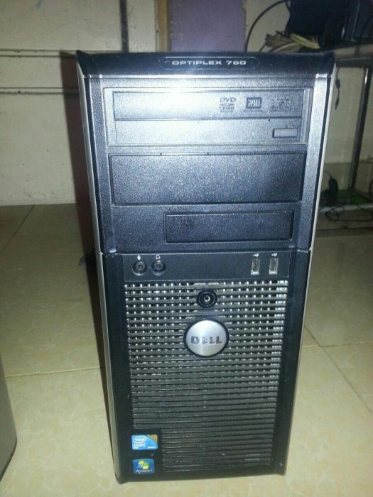 CPU dell optiplex 780 de 6gd de memória e disco de 500