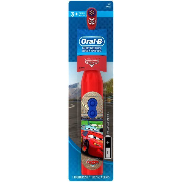 McQueen-Oral-B Stages - Battery Toothbrush- Дет. ел. четка- САЩ