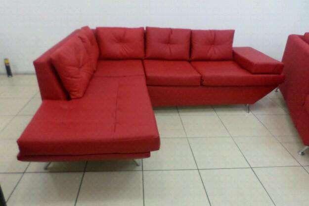 sofa tipo L novo Geneva importado com anexo