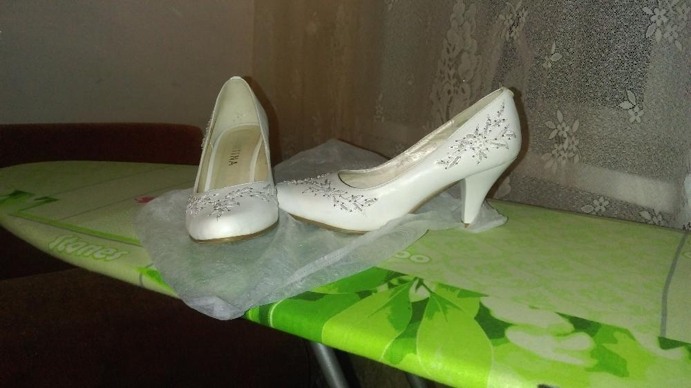 Свадебная обувь (туфли и ботиночки, размер 38)