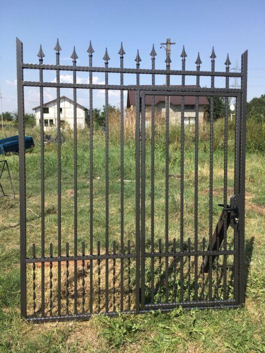 Porti Metalice,Poarta dubla,Porti,Gard fier forjat,Porti fier forjat.