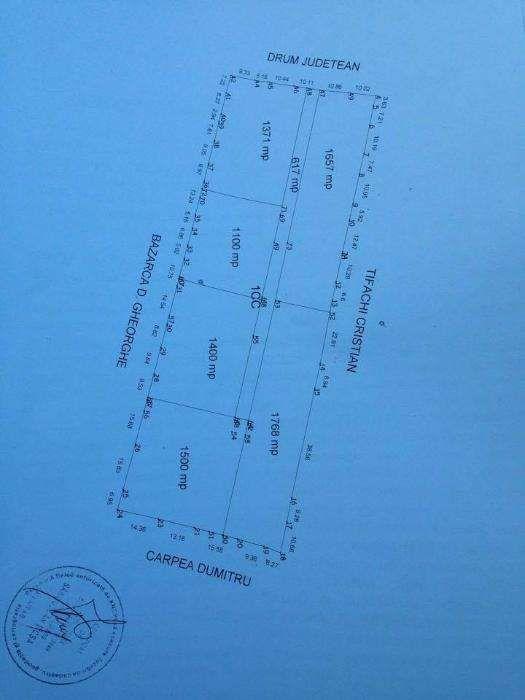 P.F.Teren la munte Vatra Dornei Pensiune Casa de Vacanta 1500mp/9900E Saru Dornei - imagine 3