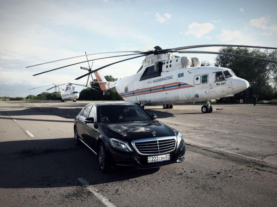 Аренда с водителем Mercedes s-class w222