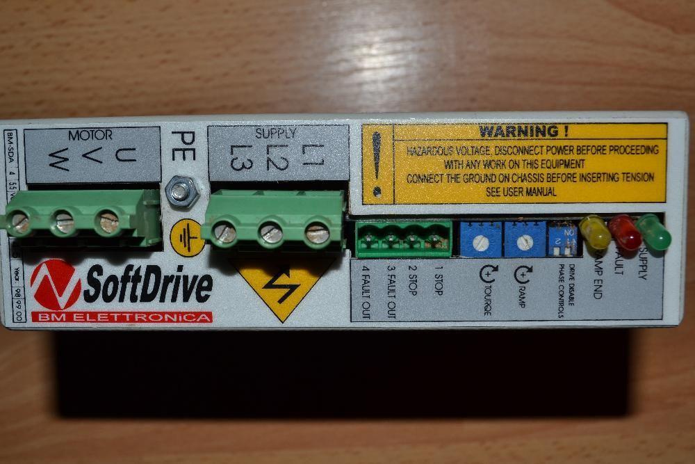 softdrive comanda motor electric 3 faze (trifazat)
