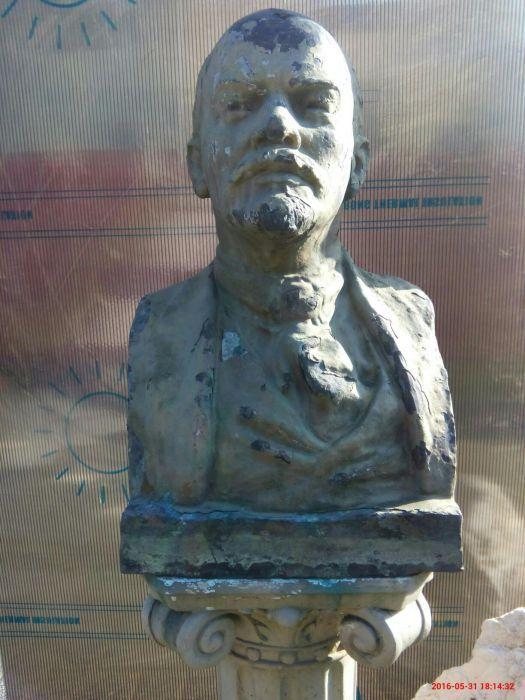 Statueta din bronz .V.I.LENIN..