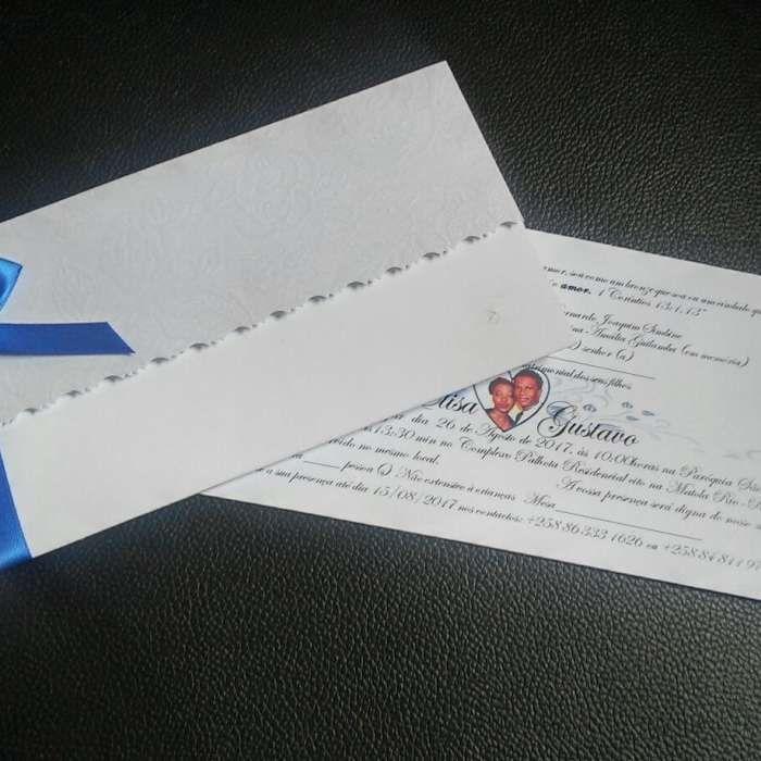 Convites para casamentos e festas com poucos recursos 2018