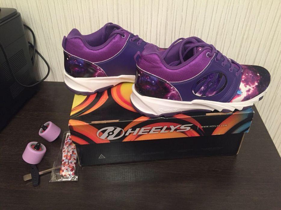 Новые роликовые кроссовки Heelys. Торг!!