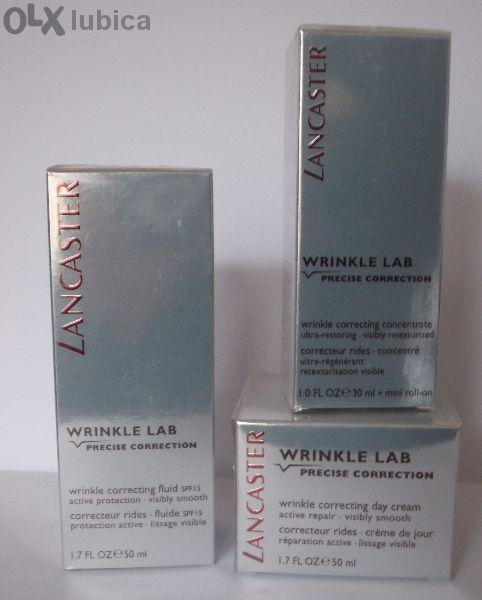 Кремове LANCASTER-wrinkle lab ПРЕЦИЗНА КОРЕКЦИЯ на бръчките