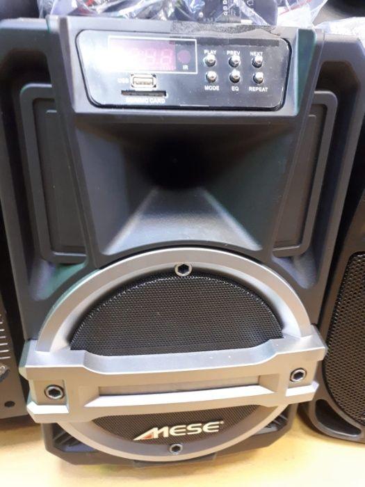 Boxa portabila Mese Rocker 8 P , Lumini, bluetooth, baterie inclusa