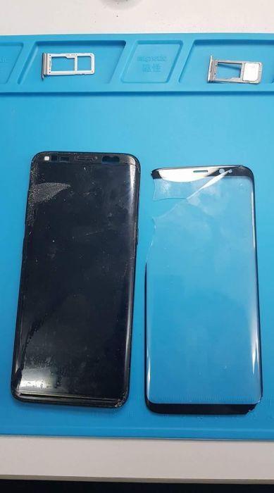 Schimbare inlocuire sticla geam display Samsung Galaxy s8 s9 g950 g955