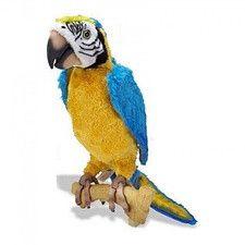 Papagal Vorbitor Jucarie Plus , Repeta ce i se spune 27x10cm