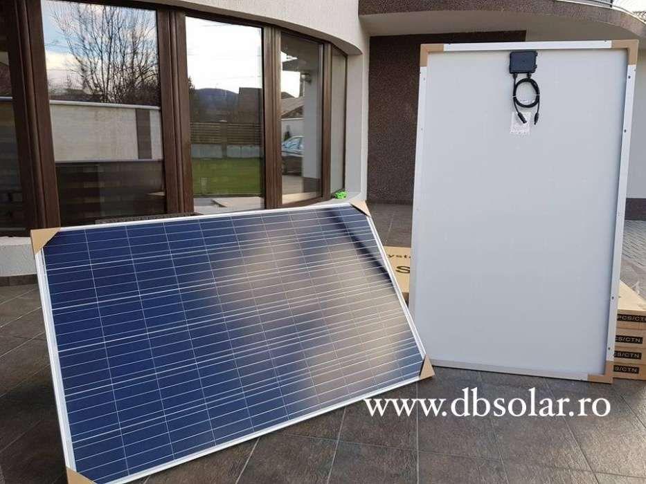 PANOURI SOLARE POLICRISTALINE 260W NOI fotovoltaice curent panou 24V‼️ Bucuresti - imagine 3