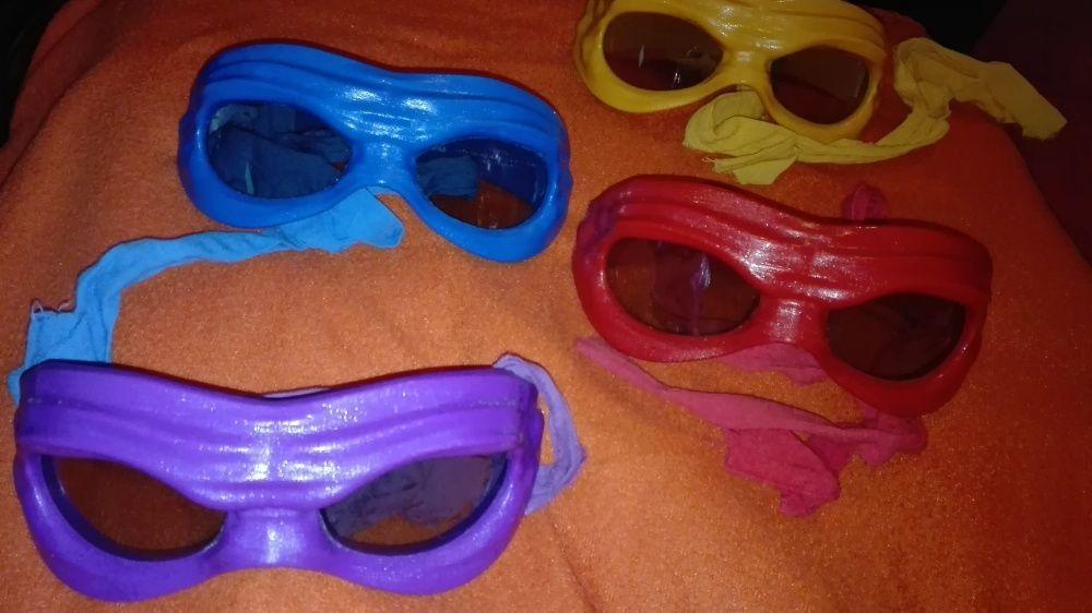 Костенурките Нинджа 3D очила пълен комплект - Ninja Turtles