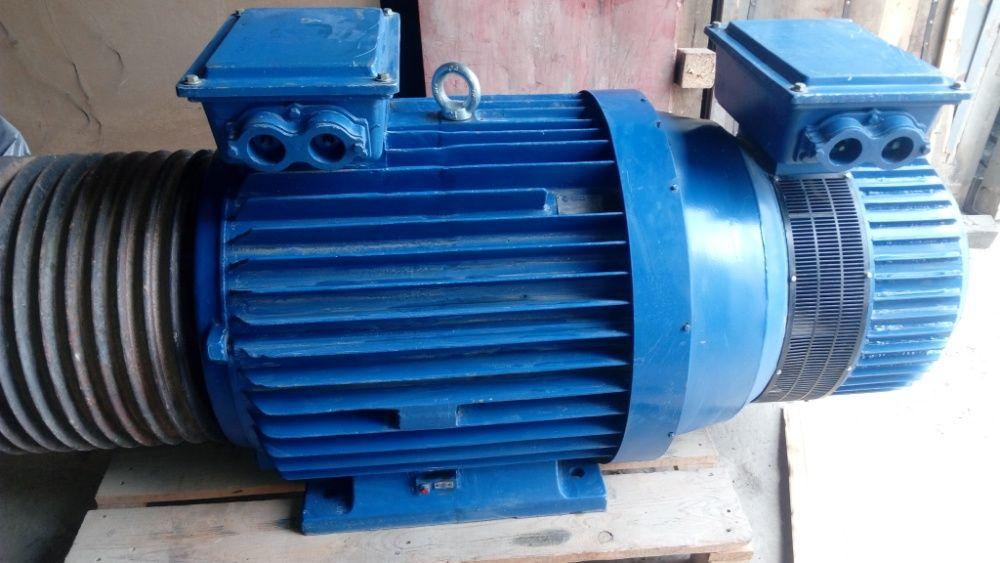 Ел. двигател с навит ротор за трошачка 75 кВт