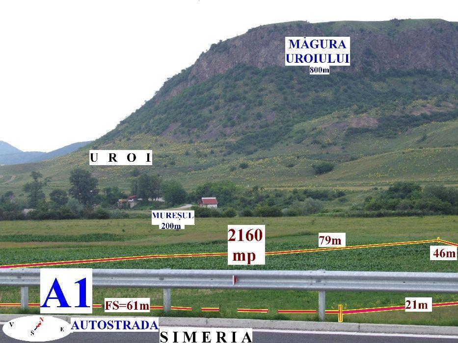 Teren Simeria la Autostrada A1