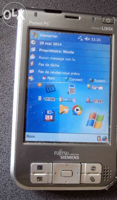 Pocket- PC Fujitsu-Siemens Pocket Loox 720 , cablu,incarcator,C