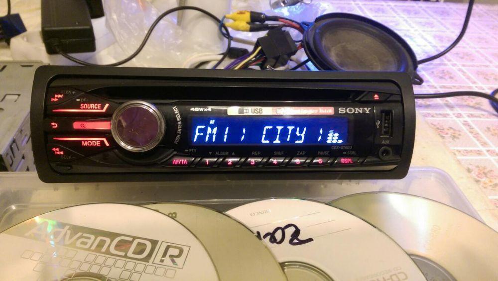 SONY cdx-gt40u - cd usb