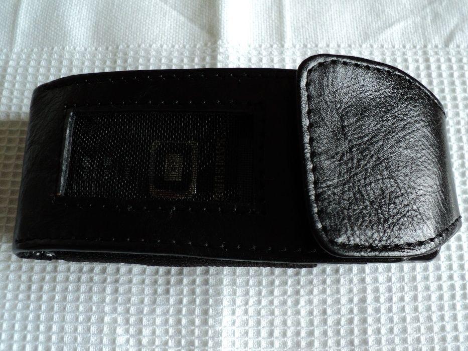 DE COLECTIE !! Husa de telefon mobil din anii '90, absolut noua, piele