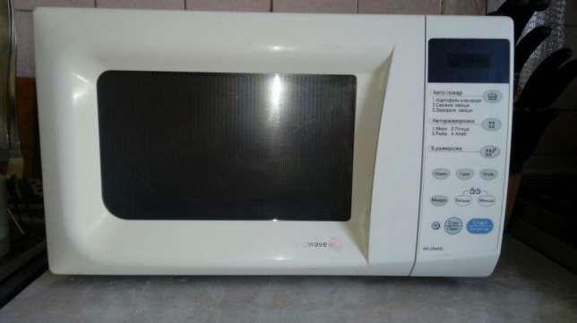 Сенсорная микроволновая печь LG
