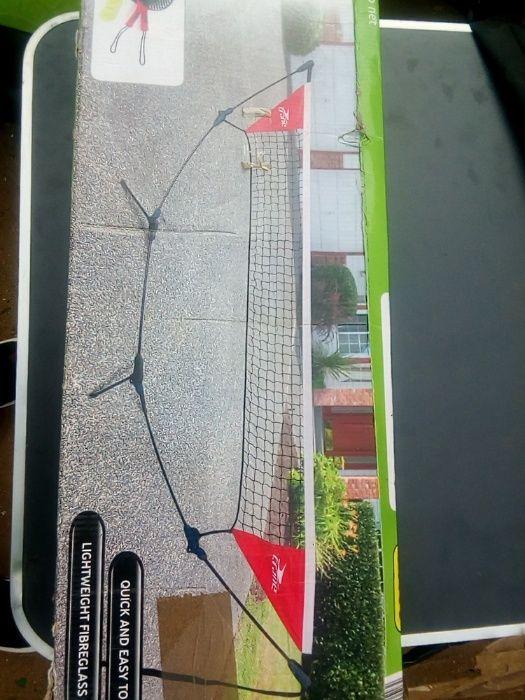 Conjunto de rede e kit de tennis, para desporto portátil