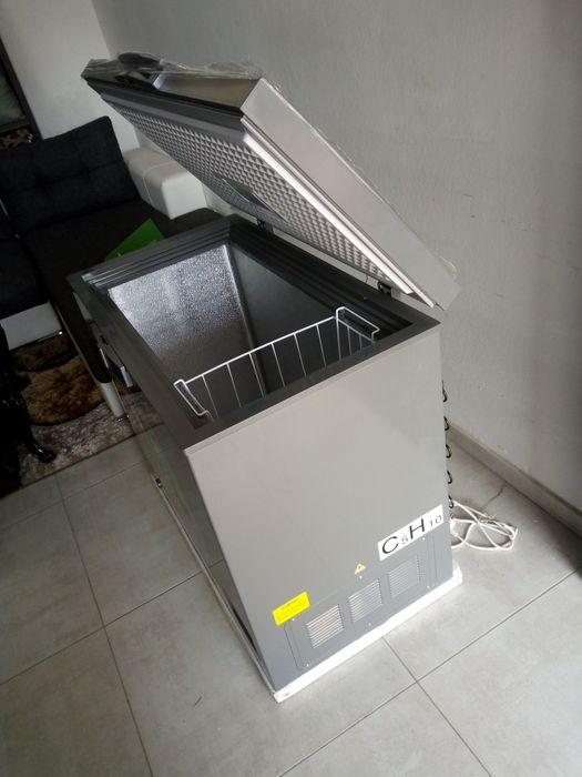 Congelador 195 litros de marca synix novo disponivel