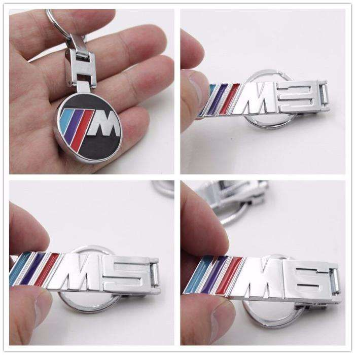 Breloc BMW M,M3,M5,M6 cromat model deosebit
