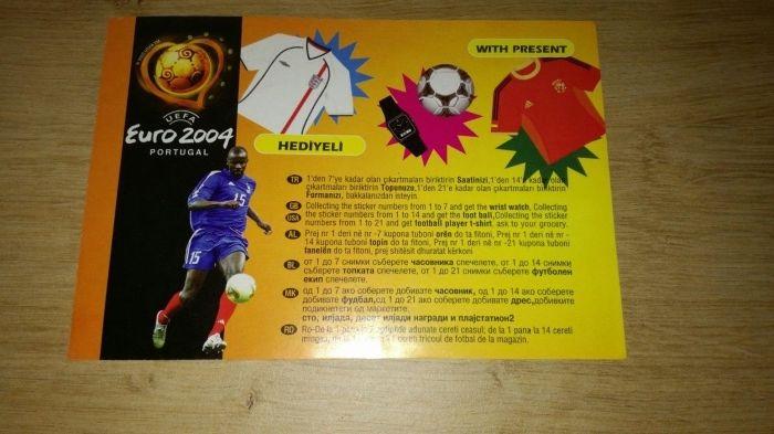 Album Stickere Fotbal Euro 2004