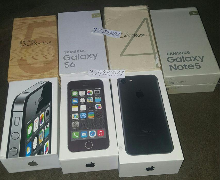 Disponível IPhone é Samsung novo na caixa Cada Telefone com Seu preço