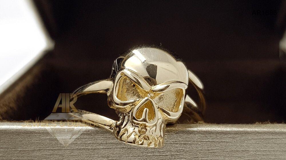 Inel Aur 14 K Skull Collection ARJEWELS&DIAMONDS (AR1686)