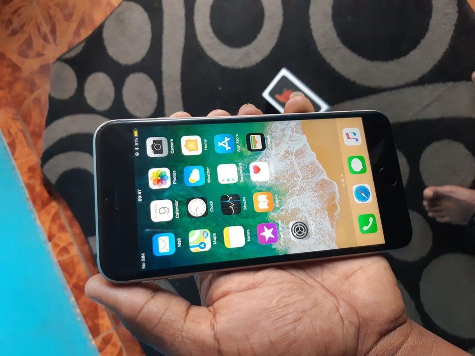 Iphone 6s pluz 64g com caixa com pouco tempo de uso