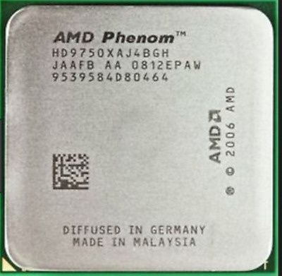 AMD Phenom X4 9750 /2.4GHz/