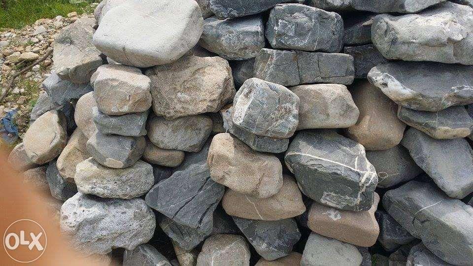 Piatra de rau pentru constructii si amenajarea de gradini