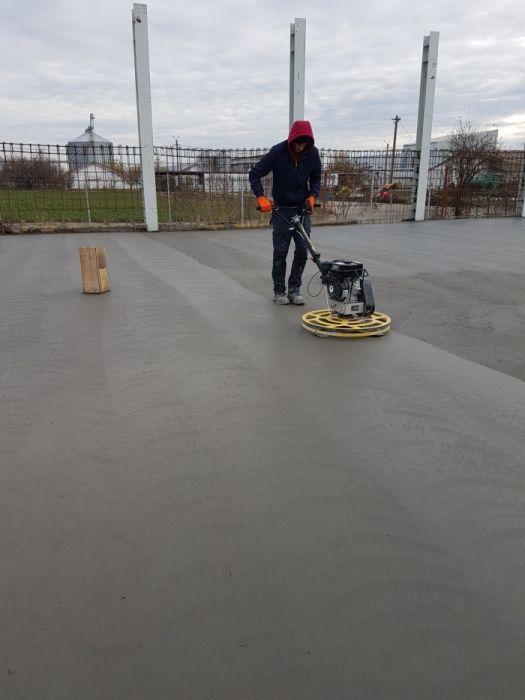 Turnat si elicopterizat pardoseli beton