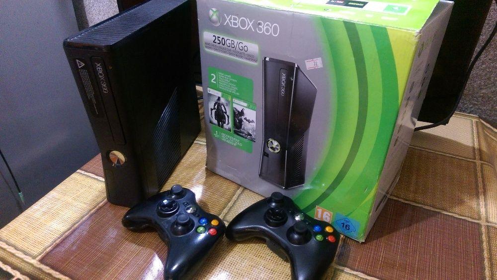 Прошитая игровая приставка XBOX 360 консоль