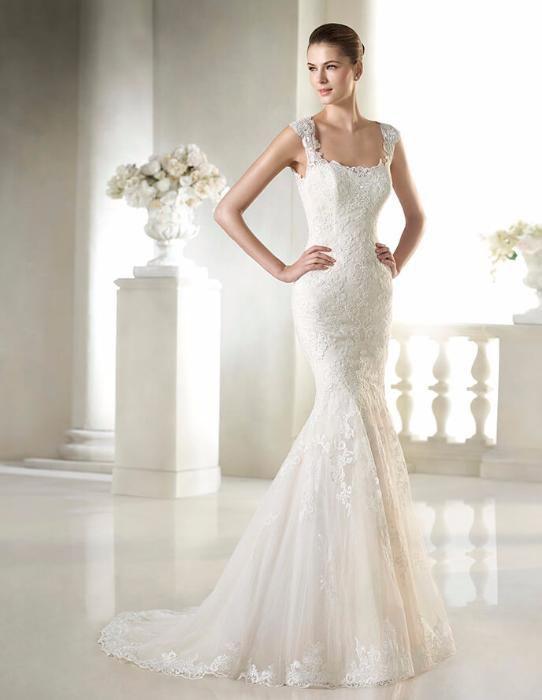 Свадебное платье San Patrick, модель Serenela, Glamour коллекции