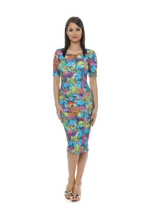 Rochie noua cu imprimeu floral