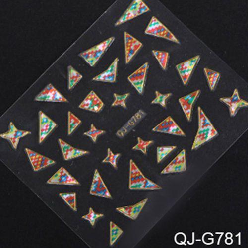 NOU*** Abtibilduri (stickere) unghii 3D cu forme neregulate*** Bucuresti - imagine 5